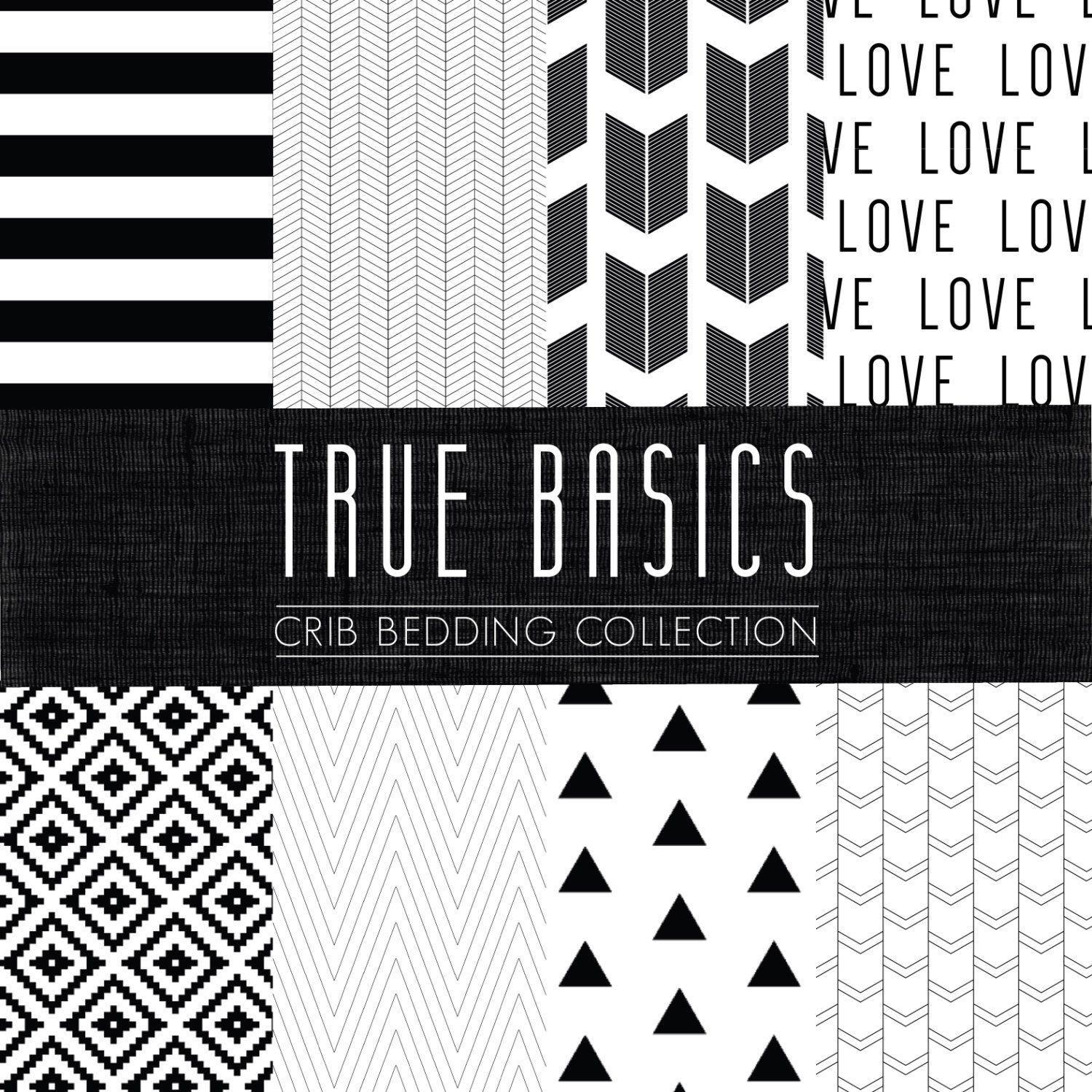 true basics crib bedding set black and white custom cribcot bedding choose your fabric cozybyjess exclusive
