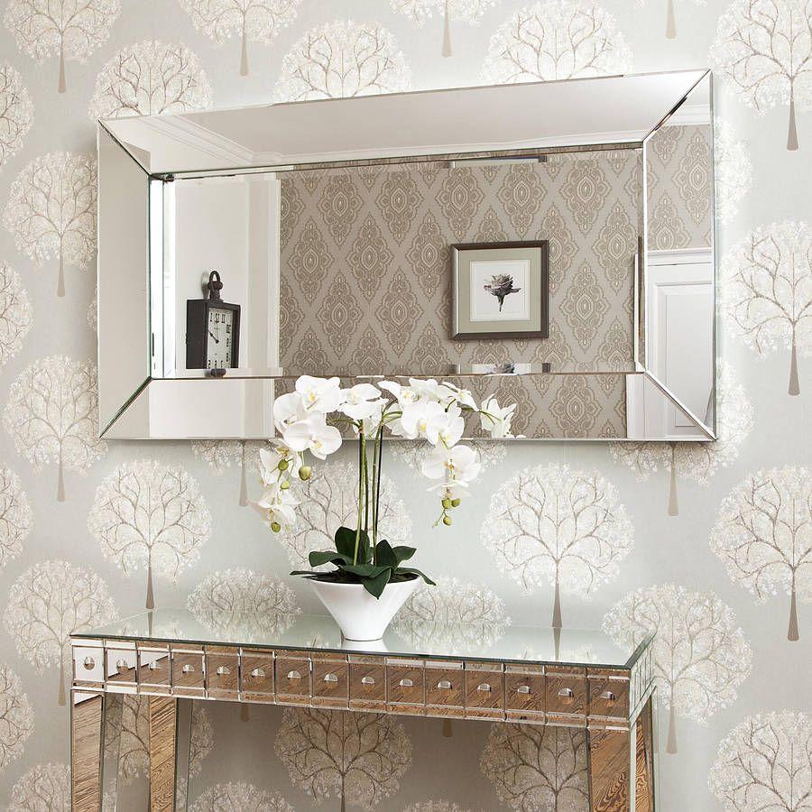 Large Deep All Mirror Glass Mirror