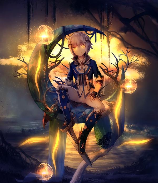 Golden Tree by donghoyongcoi Anime boy, Anime