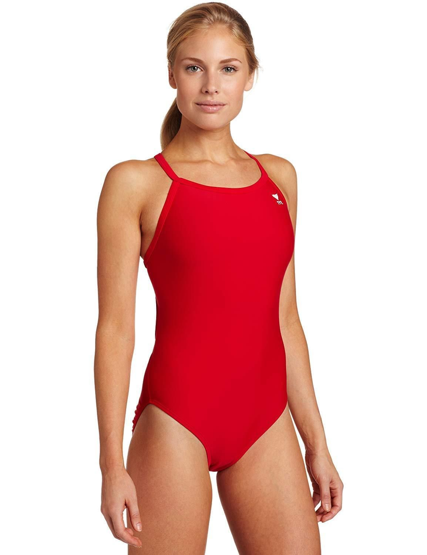 998091e56ce TYR Sport Women s Solid Diamondback Swimsuit