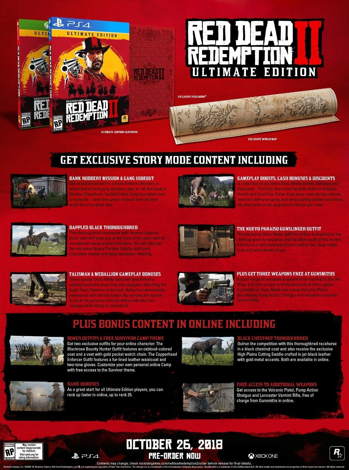 Details About Red Dead Redemption 2 Ultimate Edition Xbox One