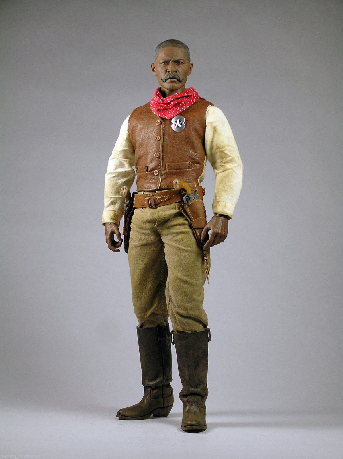 Bass Reeves Horse Custom 1 6 12in Figure Ebay With