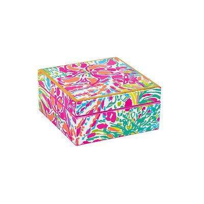 Lilly Pulitzer Spot Ya Small Lacquer Box   Utiles escolares ...