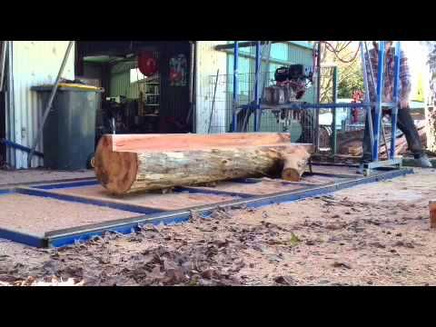 How to build a Swing Blade Sawmill pt6 - YouTube