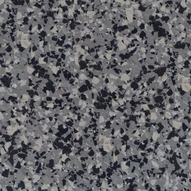 Allcoatsurfacing Com 602 639 2672 Epoxy Granite Chip Flooring In Color Graphite 1 4 With Images Stained Concrete Concrete Coatings Epoxy