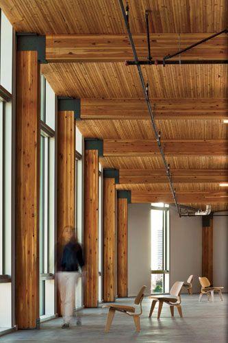 Bullitt Center Construction Google Search Timber