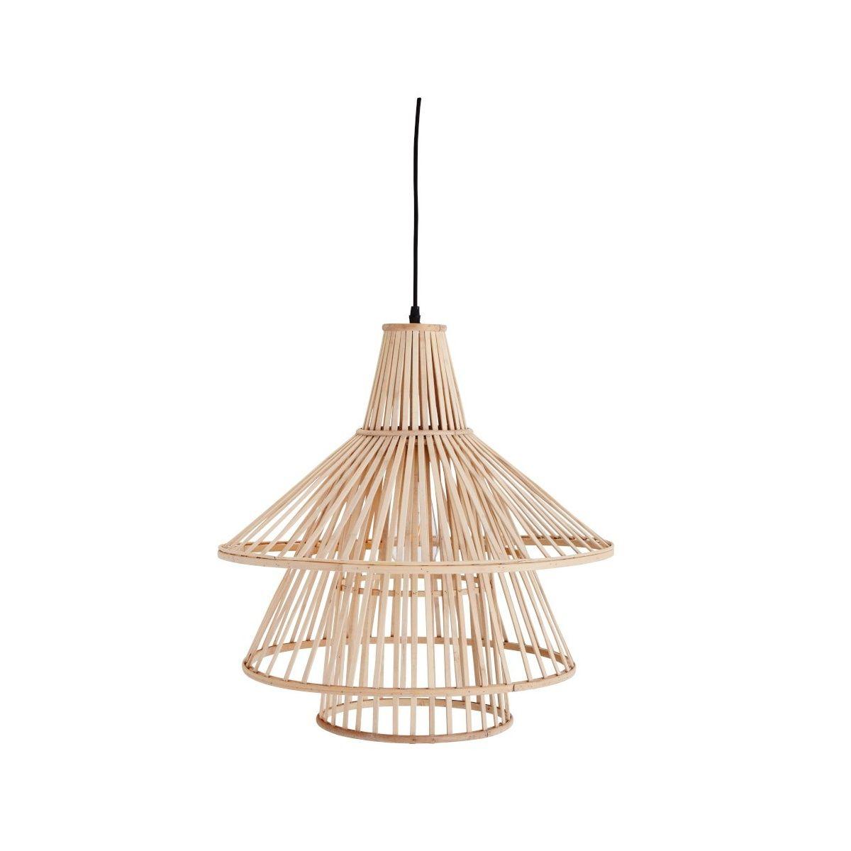 Madam Stoltz Bamboo Lamp natural in 2020 | Bamboo lamp, Lamp