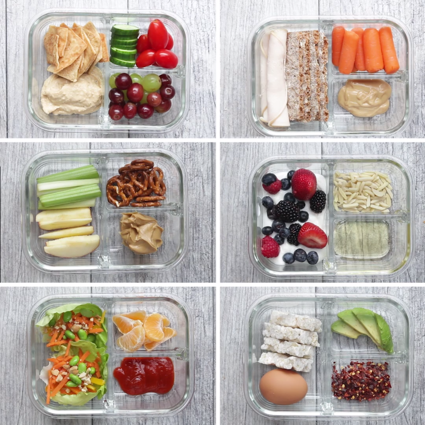 These 6 Easy Snack Boxes Are The Perfect Way To Stay On Track With A Busy Schedule – Carey&CleanEatingS