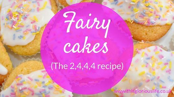 simple fairy cakes recipe 2 4 4 4