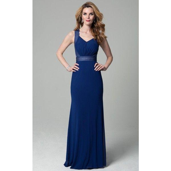 Lara 32775 Wedding Guest Dress Long Sleeveless ($278) ❤ liked on ...