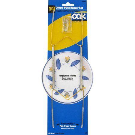 Ook 10-14 inch Deluxe Plate Hanger Set 1pk  sc 1 st  Pinterest & Ook 10-14 inch Deluxe Plate Hanger Set 1pk | Plate hangers Walmart ...