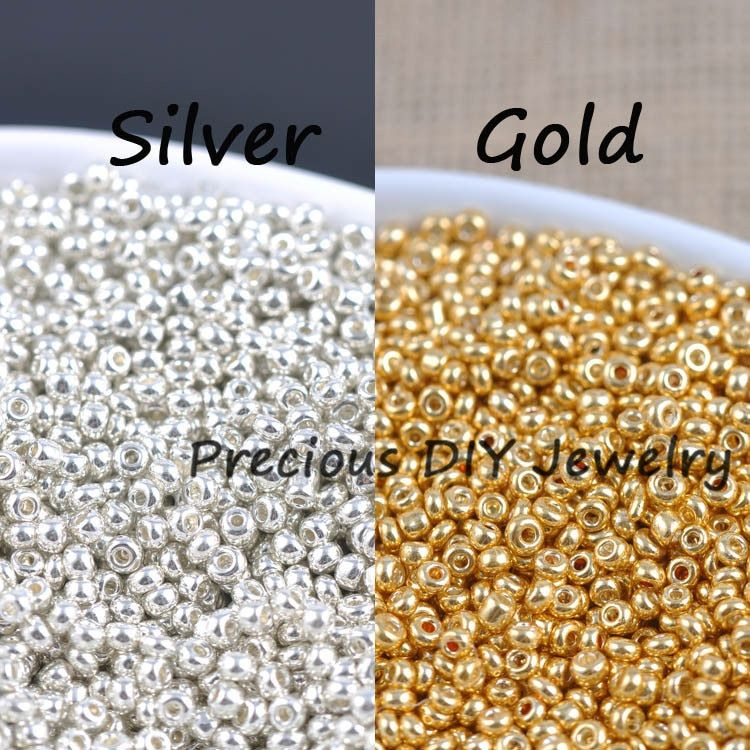 34++ Gold and silver beads for jewelry making ideas