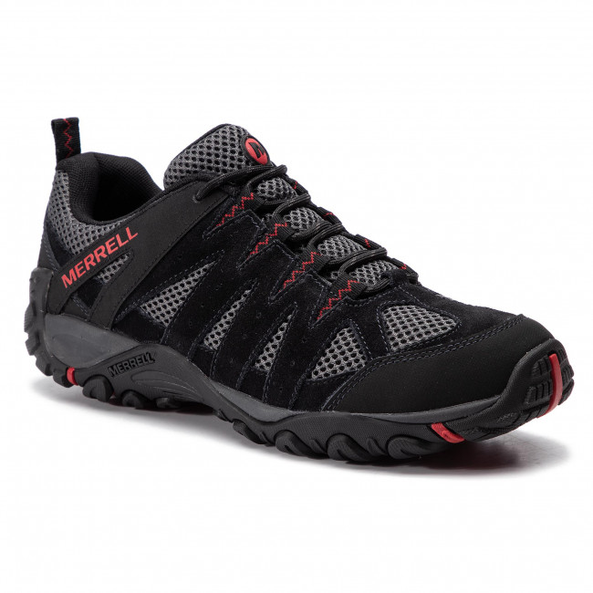 Trekkingi Merrell Accentor 2 Vent J48517 Black Trekkingi I Trapery Sportowe Meskie Eobuwie Pl Men S Shoes Shoes Sneakers