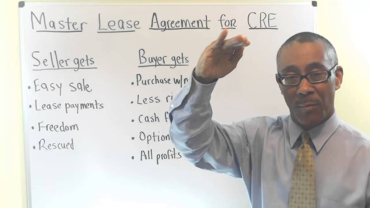 Master Lease Agreement For Commercial Real Estate Promissory Notes