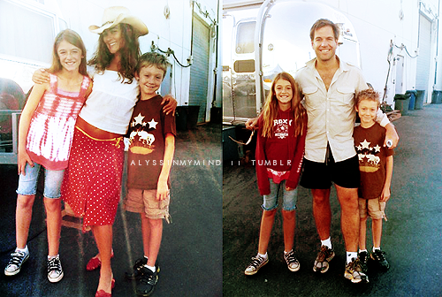 Cotemichael With Kids Ncis Photo 24252776 Fanpop Series In