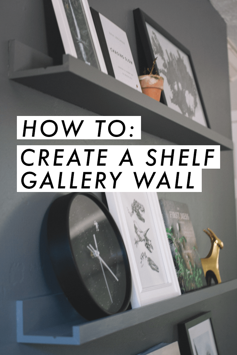 Photo of Hall Home Tour: Living Room Shelf Gallery Wall | shannon hall