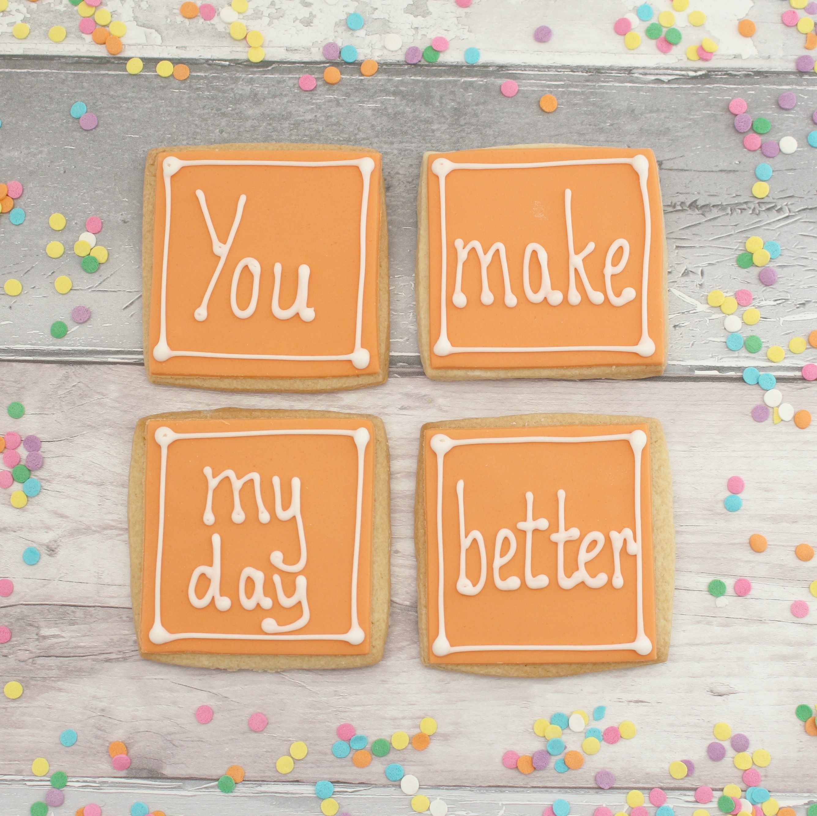 Cute anniversary gift for partner thinking of you present
