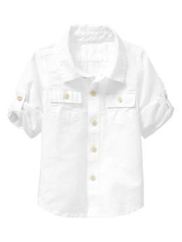 Baby Gap - Infant Convertible Shirt - Little Man would be an understatement #BabiesWithSwag