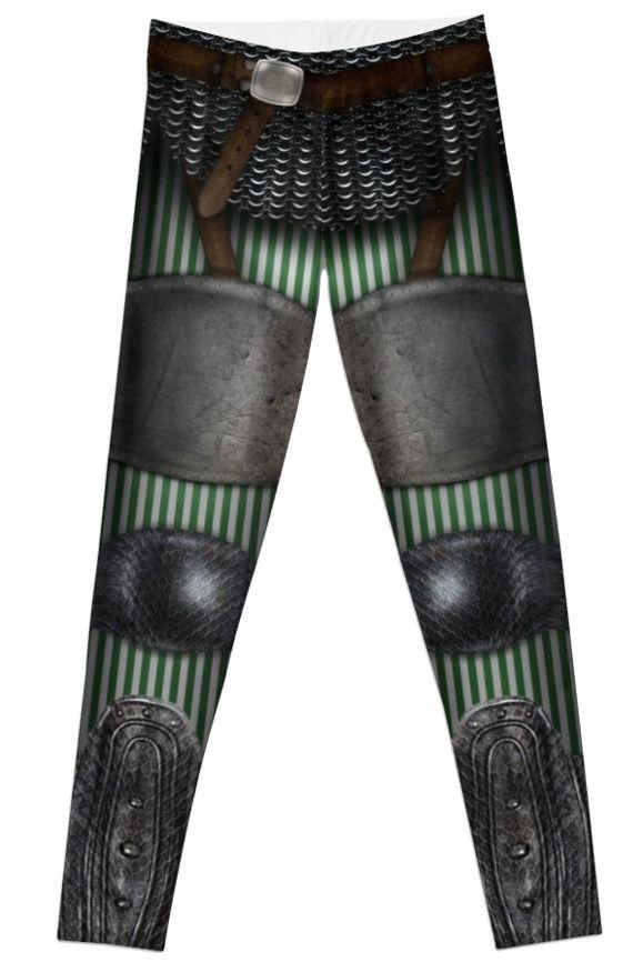 Green Armor Leggings by etoeto