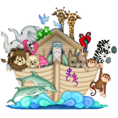 Noah's Ark Cartoon Animals Homepage Clip Arts