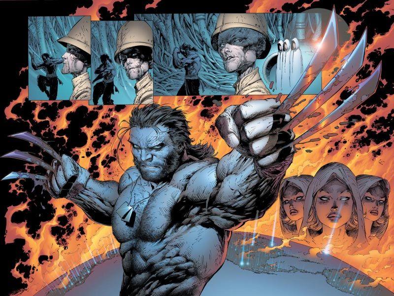Grant Morrison S X Men Wolverine Art Wolverine Marvel Art Wolverine Comic Art