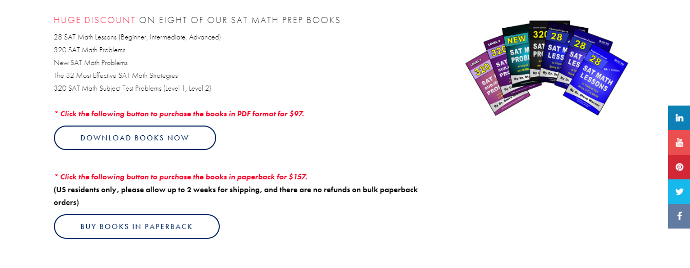 The Best Sat Math Prep By A Phd Pro Internet Marketer With