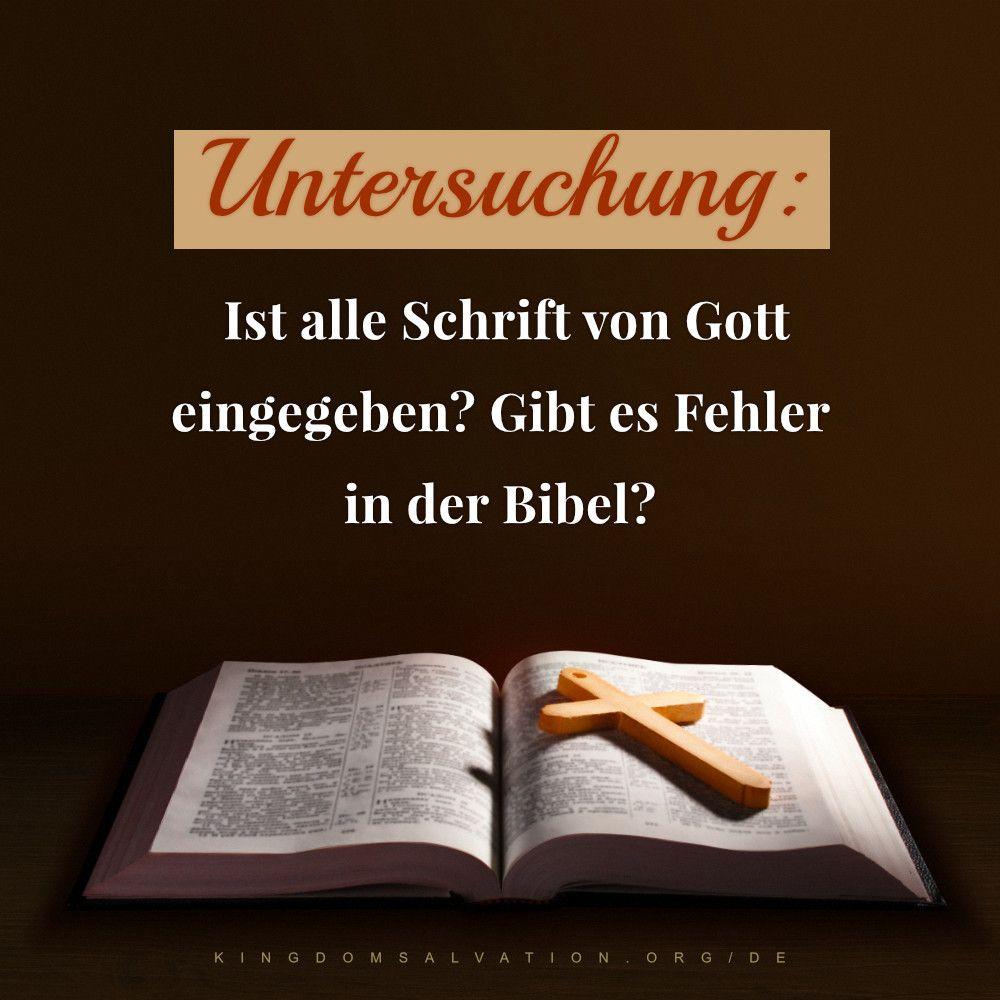 Wie Lange Gibt Es Die Bibel