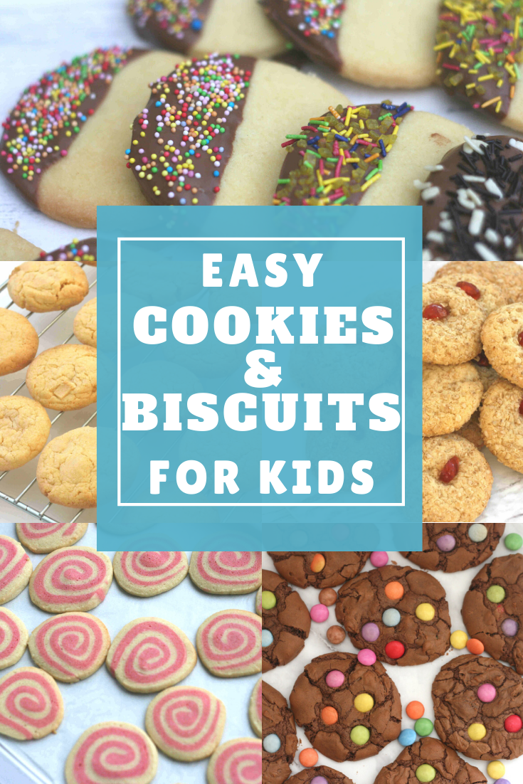 Easy Cookie Biscuit Recipes For Kids Easy Cookies Easy Baking For Kids Easy Sugar Cookies