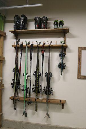 Ski Rack Storage Cabin And Organizations