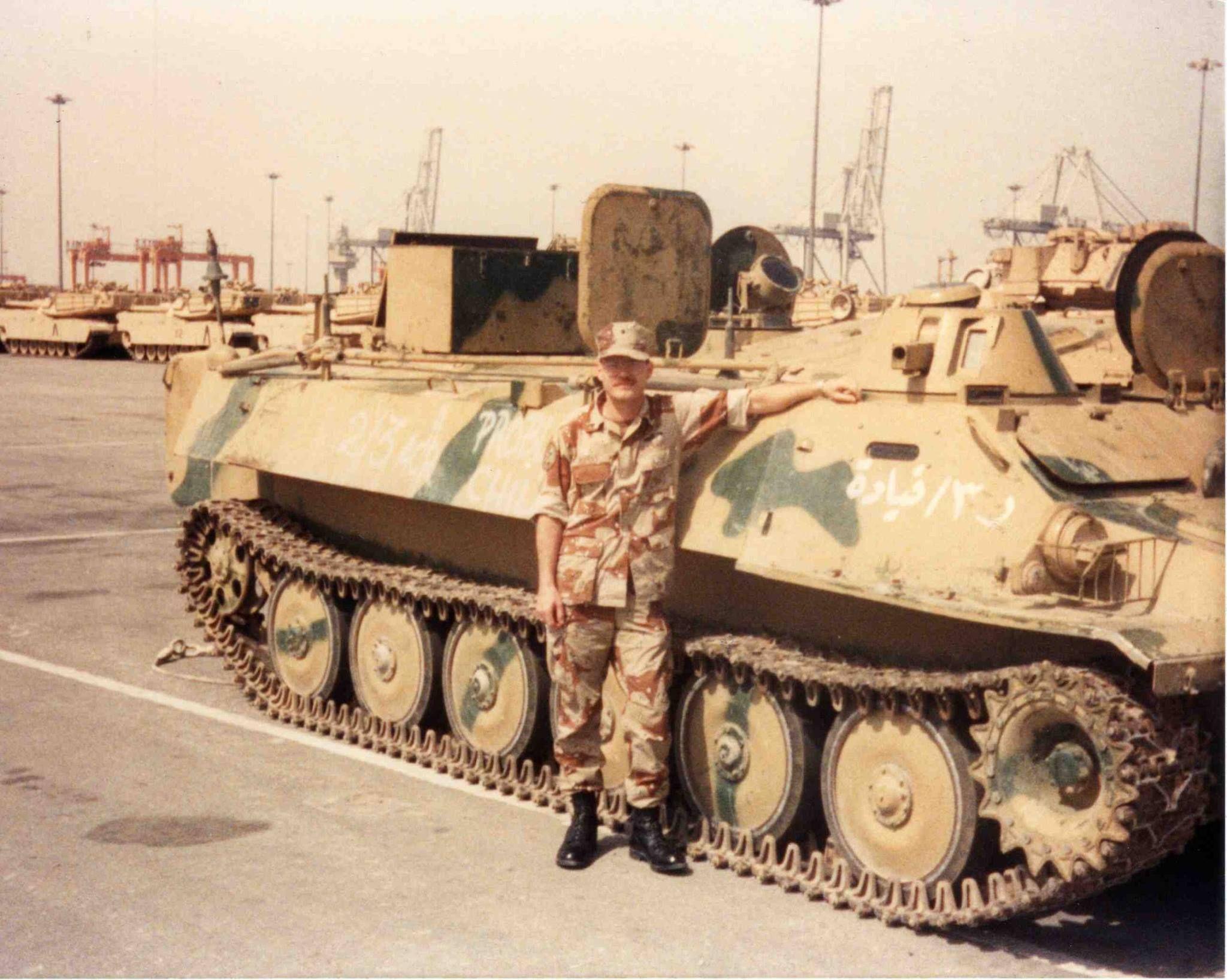 Seized Iraqi MT-LB Gulf War.