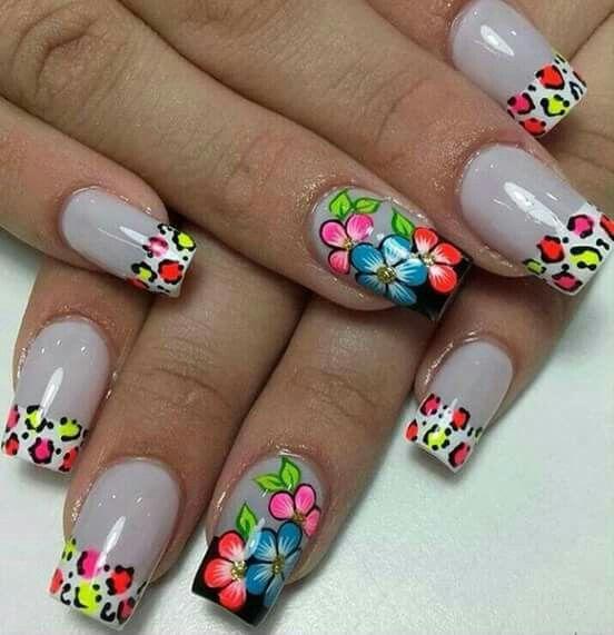 Pin By Karol Peña On Uña Nails Fingernail Designs Fun Nails