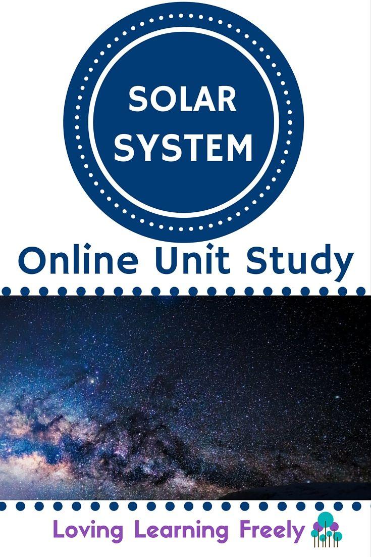 Solar System Online Unit Study | Homeschool! | Learn math