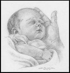 Atelier Colorido PX: Quadro com bebé...