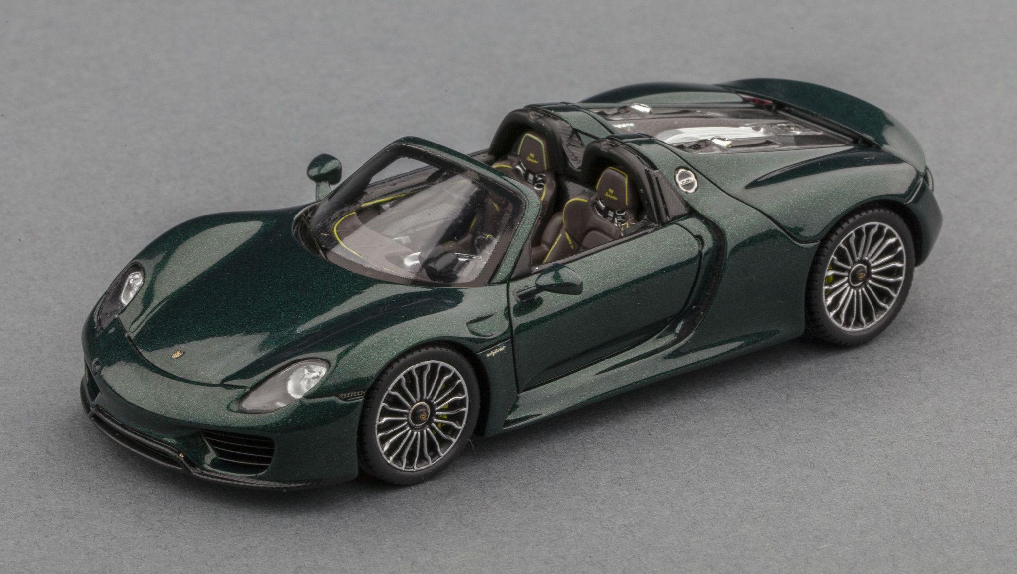 porsche 918 spyder 1 43 scale model car super cars. Black Bedroom Furniture Sets. Home Design Ideas