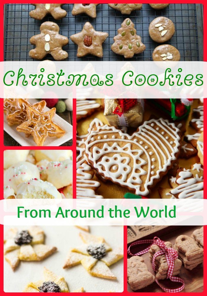 15 Christmas Cookies From Around the World Christmas