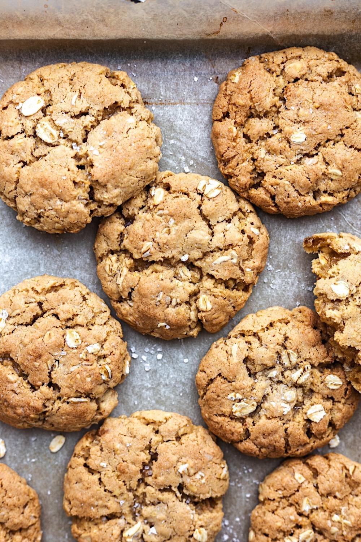 Vegan Oat Cookies Cupful Of Kale Recipe In 2020 Vegan Oat Cookies Oat Cookies Vegan Cookies