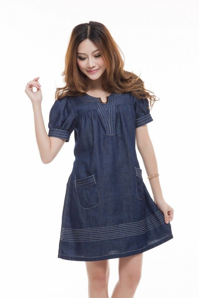 womens short denim dresses in plus sizes | short sleeve denim ...