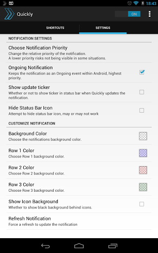 Quickly Notification Shortcuts v2 0 0 0 apk Requirements
