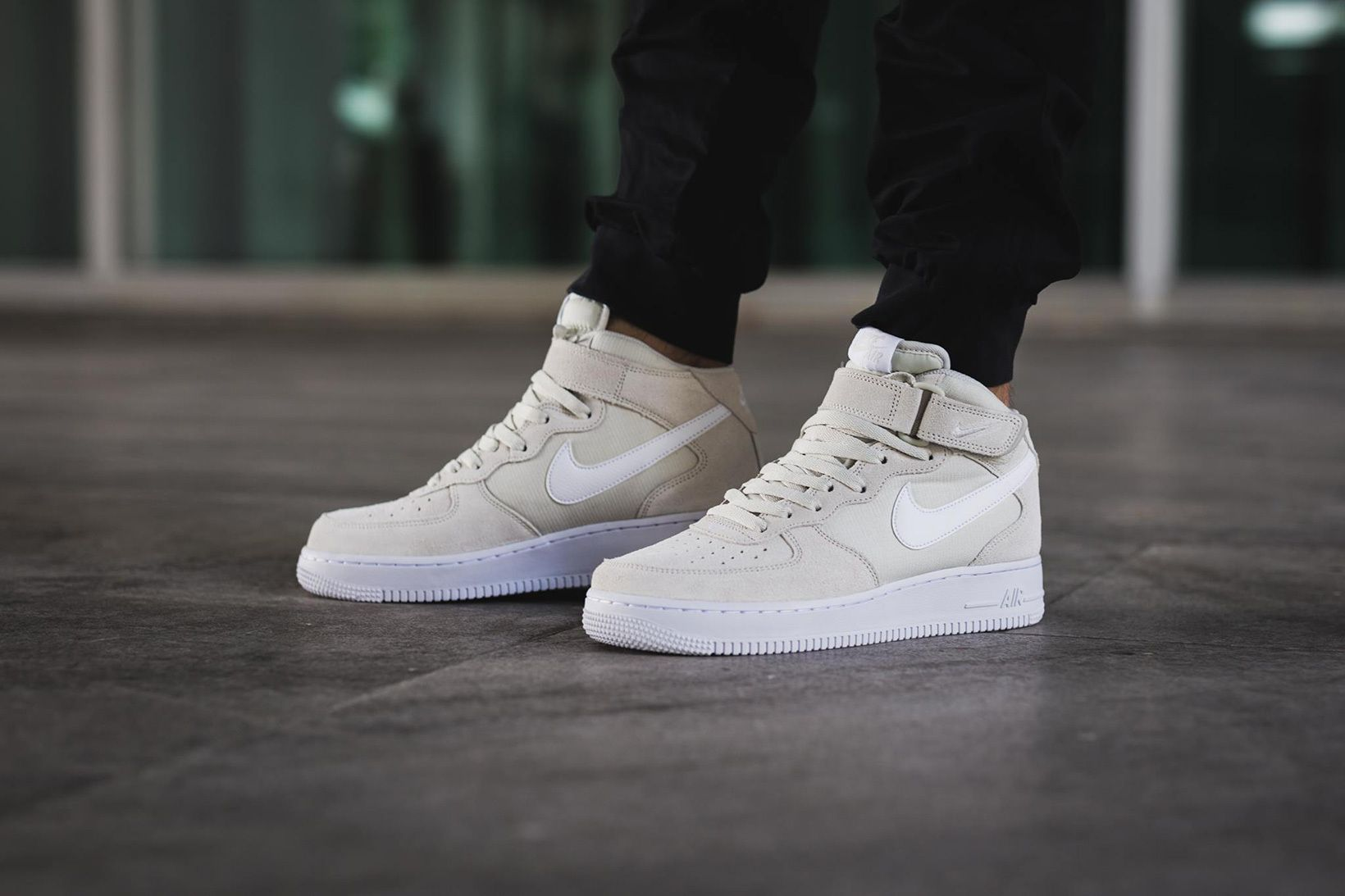 The Nike Air Force 1 Mid Gets a Clean