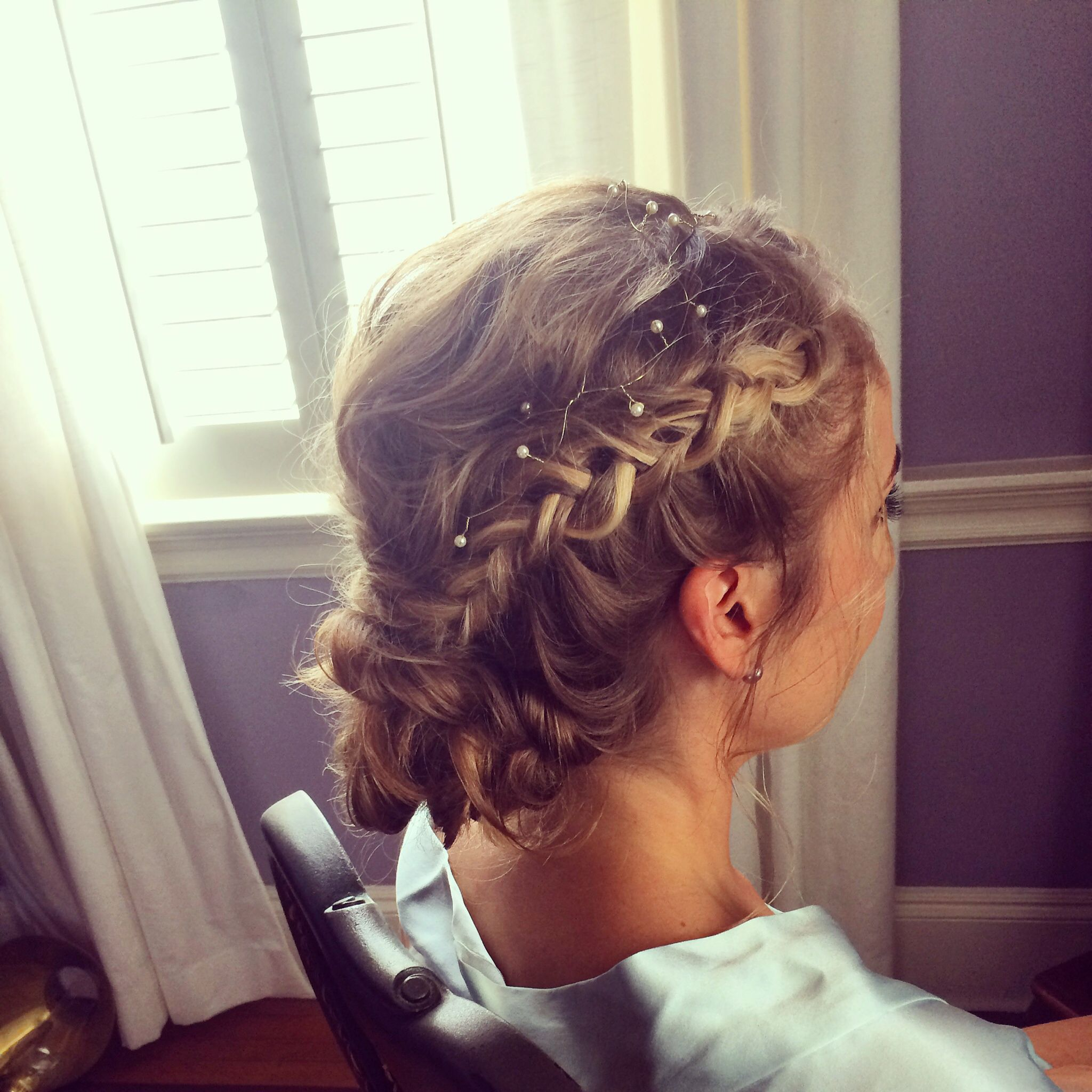 wedding hair, charleston bridal hair, wedding hair in charleston