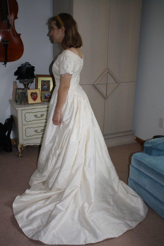 1800s wedding dress styles