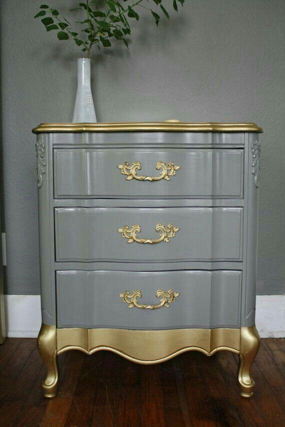 Pin By Annie Daudin On Gray Matter Furniture Makeover Redo Furniture Refurbished Furniture