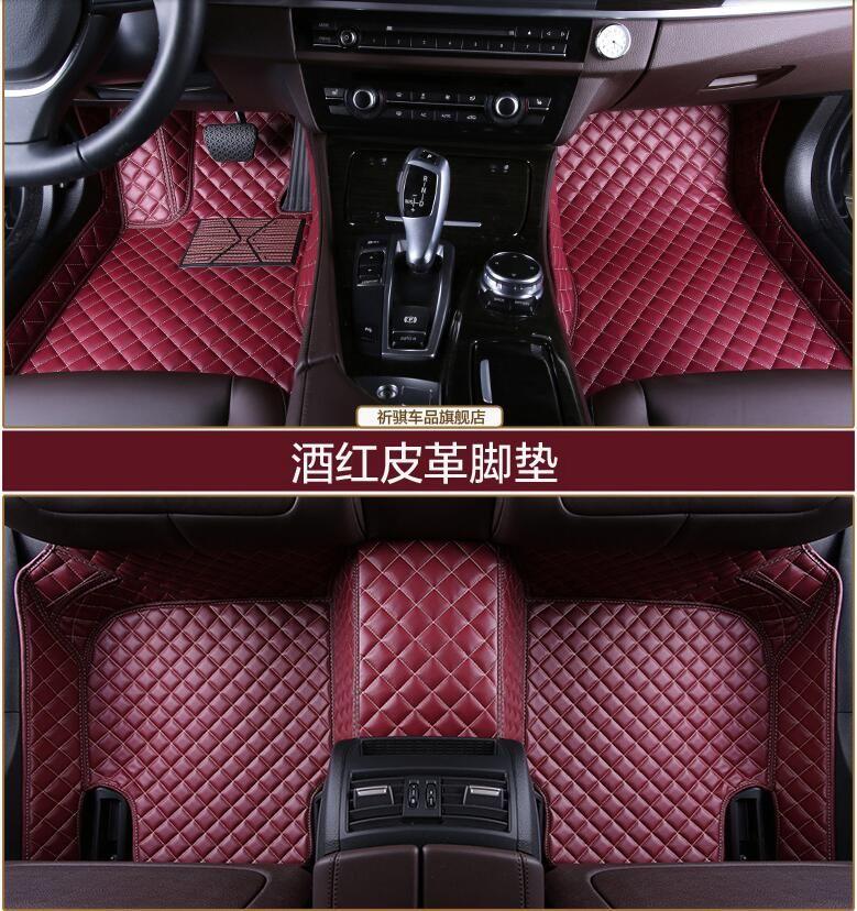 3d Luxury Slush Floor Mats Foot Pad Mat For Honda Civic 2012 2013