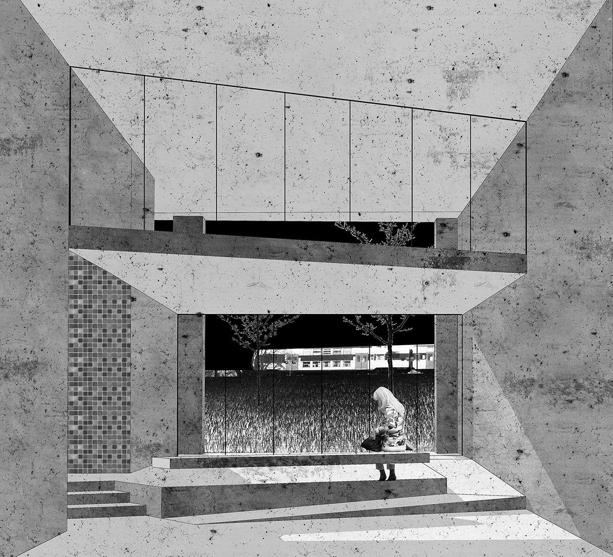 A Monochromatic Vision Architecture, Architecture