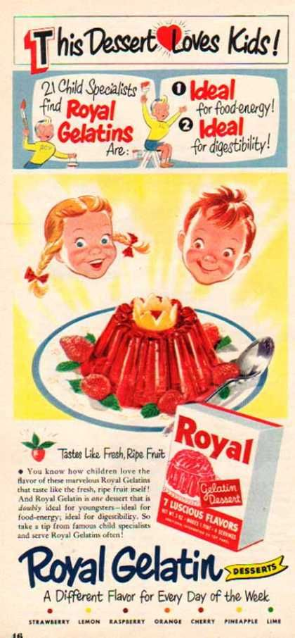 Royal Gelatin – Seven Luscious Favors (1950)