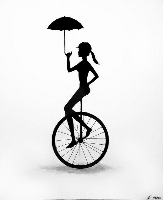 Learn How To Ride A Unicycle Unicycle Bicycle Art Balance Art