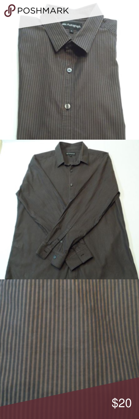 Marks And Spencer Autograph Dress Shirt Size Large In 2018 My Posh