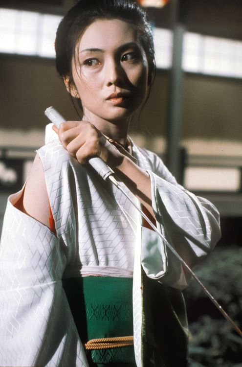 fuckyeahmeikokaji: Press photo for Lady Snowblood (修羅雪姫).