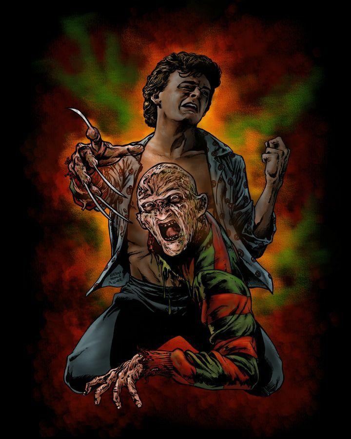 A Nightmare On Elm Street 2 Freddy S Revenge Horror Movie Icons Horror Movie Art Freddy Krueger Art