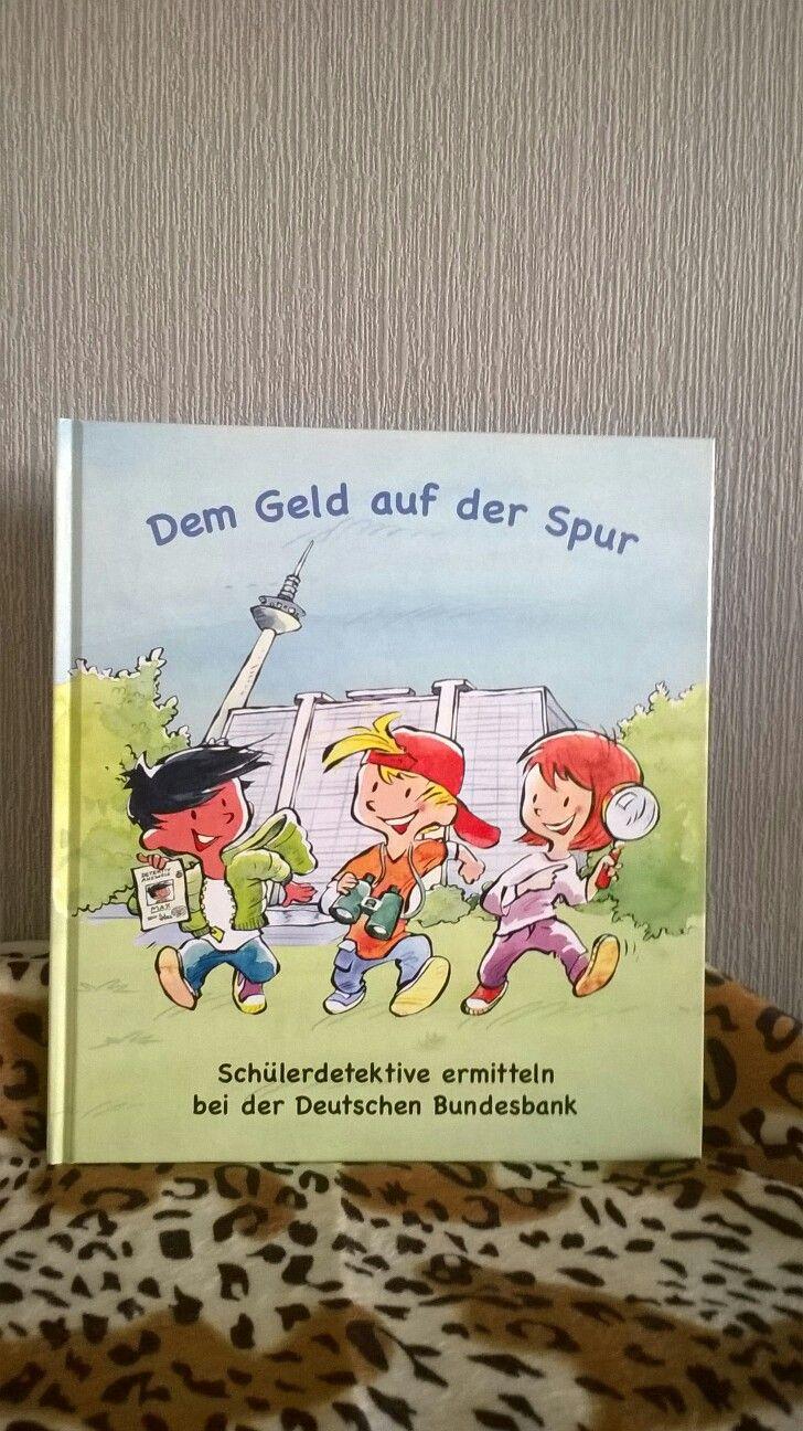 """Aufklärungs Buch von der Deutschen Bundesbank """"Dem Geld"""